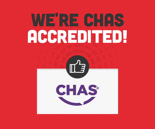 We're CHAS Accredited!
